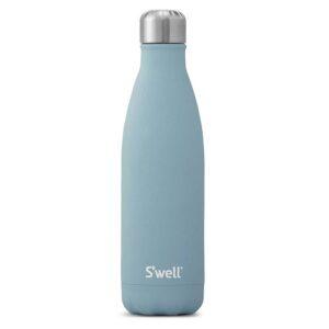 Botella térmica de acero inoxidable. SWELL celeste 500 ml