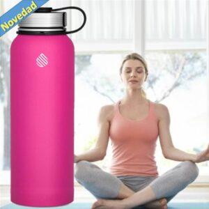 Botella térmica 1L-rosa fuerte-7